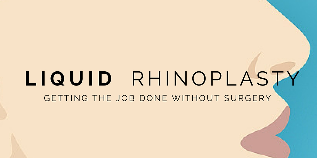 Liquid Rhinoplasty – Getting The Job Done Without Going Under The Knife