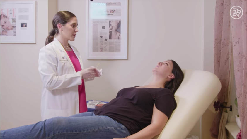 Kybella Double Chin Removal Treatment Up Close | Featured On Macro Beauty | Refinery29